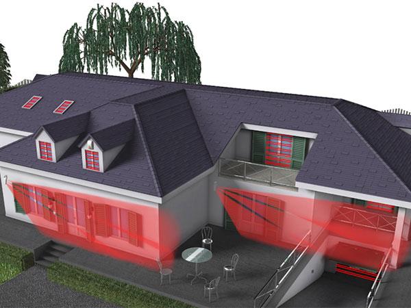 Antifurto perimetrale esterno senza fili prezzi come - Antifurto casa wireless ...