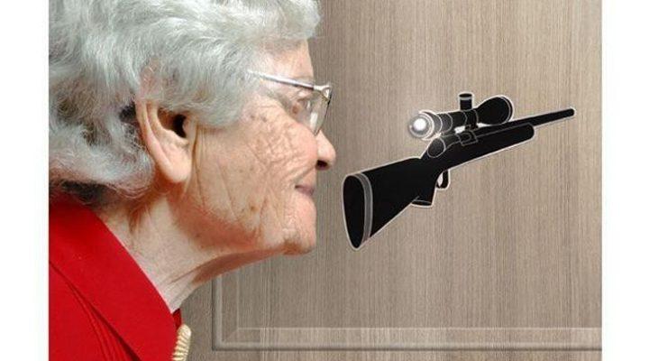Telecamera spioncino porta blindata ecco i migliori - Spioncino porta con telecamera ...