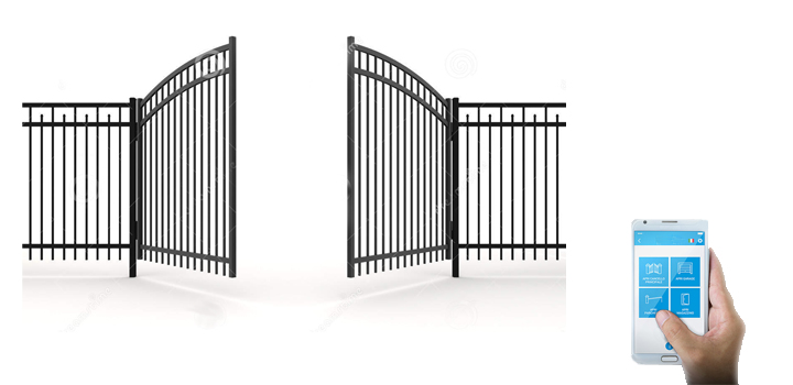 Come aprire cancello con cellulare