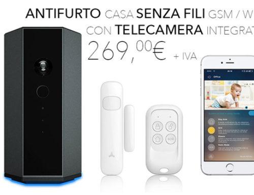 Antifurto con telecamera wireless GSM a distanza