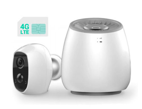Videosorveglianza a batteria: ecco i nuovi kit 4G con SIM Card