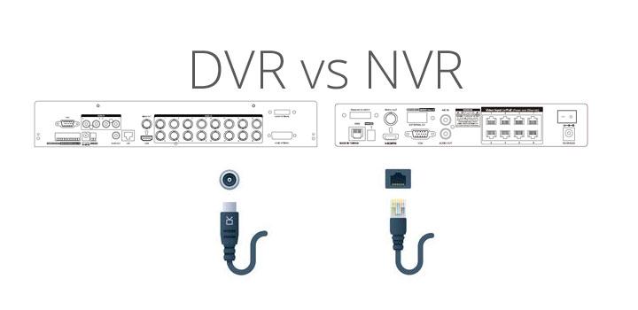 Differenza tra NVR e DVR?