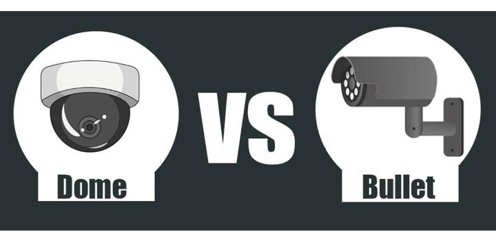 Telecamera Dome vs Telecamera Bullet. Qual è migliore?